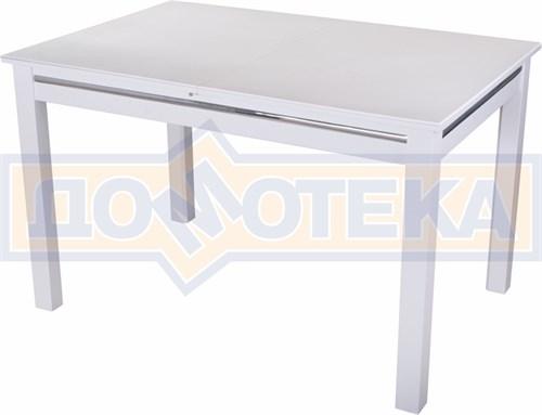 Стол обеденный Бета-1 04 БЛ 08 БЛ белый - фото 4775