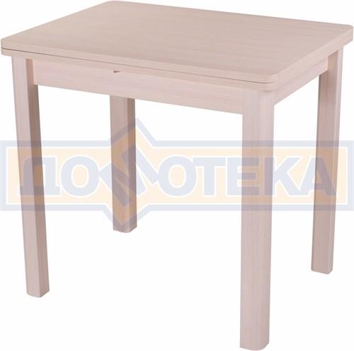 Стол кухонный Дрезден М-2 МД 04 МД молочный дуб - фото 4838
