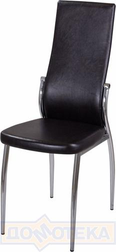 Стул кухонный Милано В-4/В-4 черный венге, повышенной комфортности - фото 4854