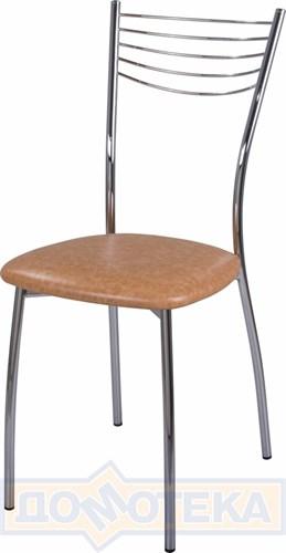 Стул кухонный Омега-1 В-2 светло-коричневый - фото 4887