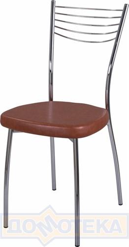 Стул кухонный Омега-1 В-3/В-3 коричневый, повышенной комфортности - фото 4889