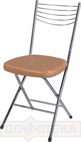 Стул кухонный Омега-1 скл. B-2/В-2 светло-коричневый, повышенной комфортности - фото 4906