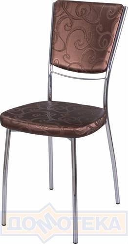 Стул кухонный Омега-5 Д-4/Д-4 спД-4/Д-4 коричневый (темная бронза) с узором, повышенной комфортности - фото 5114