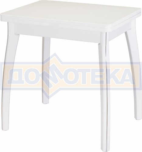 Стол кухонный Реал М-2 КМ 04 (6) БЛ 07 ВП БЛ белый - фото 5139