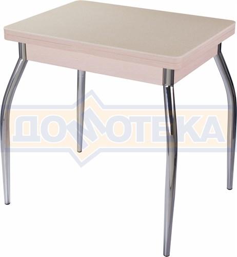 Стол кухонный Реал М-2 КМ 06 (6) МД 01 молочный дуб - фото 5148