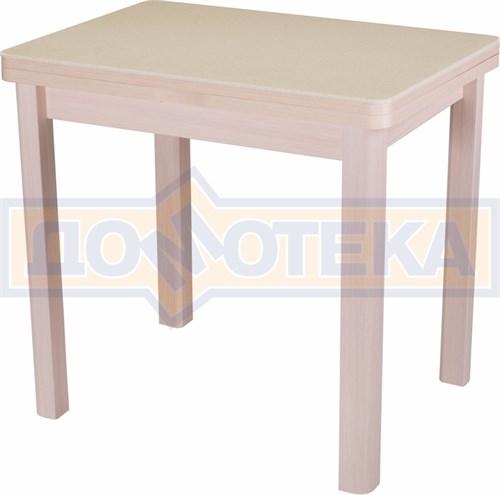 Стол кухонный Реал М-2 КМ 06 (6) МД 04 МД молочный дуб - фото 5150