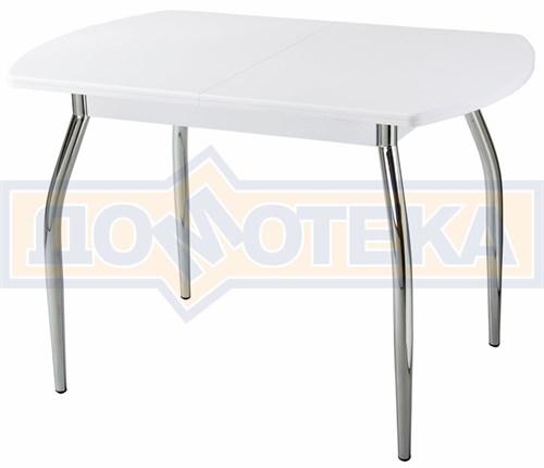 Стол кухонный Реал ПО КМ 04 (6) БЛ 01 белый - фото 5155