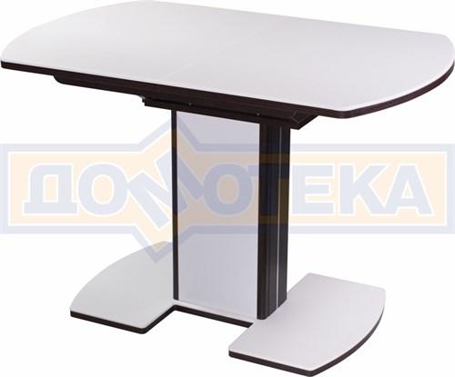 Стол кухонный Реал ПО КМ 04 (6) ВН 05 ВП ВН/БЛ КМ 04 венге - фото 5160