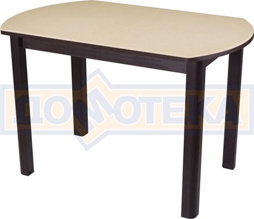 Стол кухонный Реал ПО КМ 06 (6) ВН 04 ВН венге - фото 5163