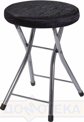 Кухонный табурет Соренто А-4/А-4 черный венге с эффектом замши/повышенной комфортности - фото 5228