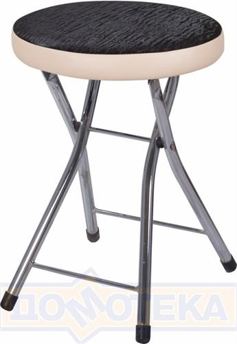 Кухонный табурет Соренто А-4/В-1 ченый венге с эффектом замши/бежевый, повышенной комфортности - фото 5229