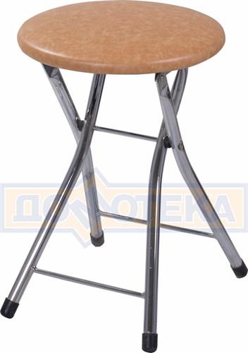Кухонный табурет Соренто В-2 светло-коричневый - фото 5236