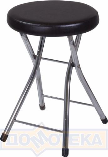 Кухонный табурет Соренто В-4/В-4 черный венге, повышенной комфортности - фото 5242