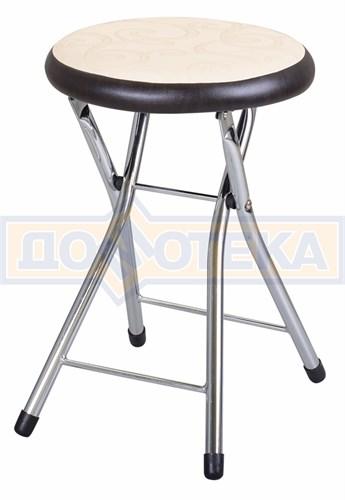 Кухонный табурет Соренто Д-2/В-4 светло бежевый/венге, повышенной комфортности - фото 5249