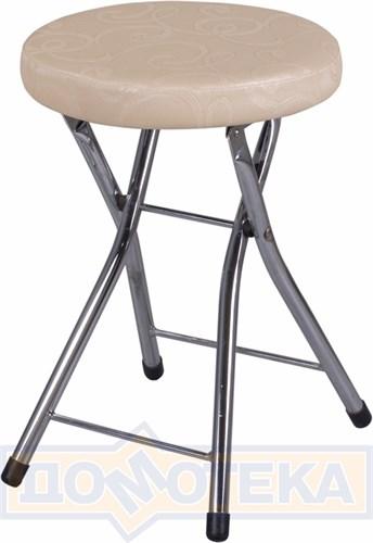 Кухонный табурет Соренто Д-2/Д-2 светло-бежевый, повышенной комфортности - фото 5250
