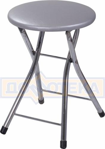 Кухонный табурет Соренто С-1 серебристый (серый) - фото 5254