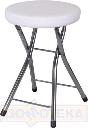 Кухонный табурет Соренто А0/А0, белый с эффектом замши/повышенной комфортности - фото 6080
