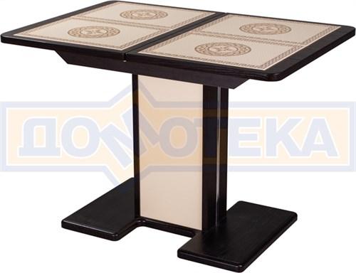 Стол с плиткой - Каппа ПР ВП ВН 05 ВН/КР пл 52 ,венге - фото 6166