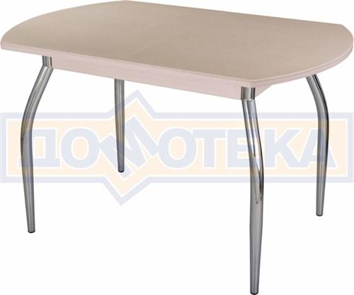 Стол с камнем - Румба ПО КМ 06 МД 01 ,молочный дуб - фото 6208