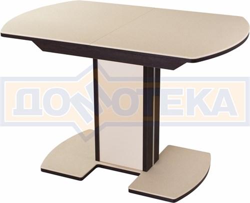 Стол с камнем - Румба ПО-1 КМ 06 ВН 05-1 ВН/КР КМ 06 ,венге - фото 6223