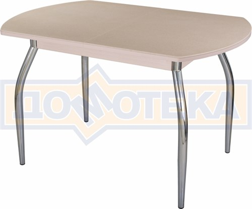 Стол с камнем - Румба ПО-1 КМ 06 МД 01 ,молочный дуб - фото 6224