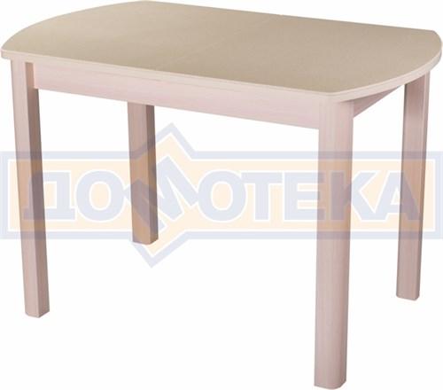 Стол с камнем - Румба ПО-1 КМ 06 МД 04 МД ,молочный дуб - фото 6226