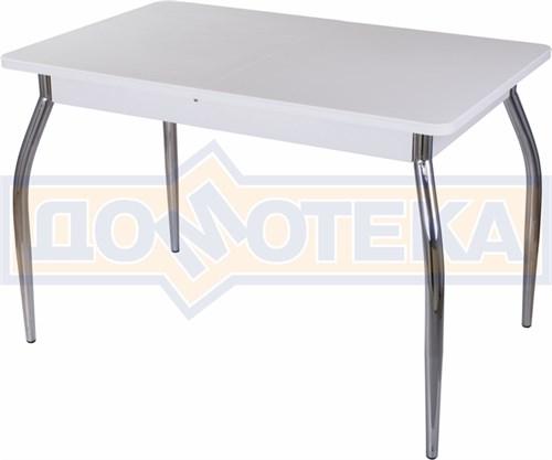 Стол с камнем - Румба ПР-1 КМ 04 БЛ 01 ,белый - фото 6244