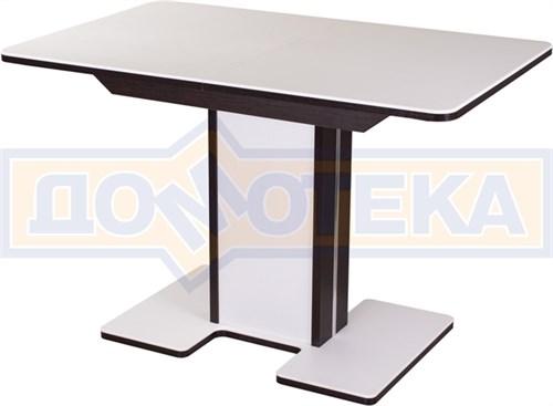 Стол с камнем - Румба ПР-1 КМ 04 ВН 05-1 ВН/БЛ КМ 04 ,венге - фото 6251