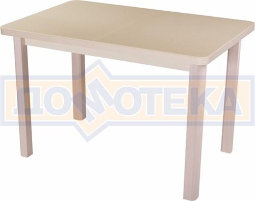 Стол с камнем - Румба ПР-1 КМ 06 МД 04 МД ,молочный дуб - фото 6258