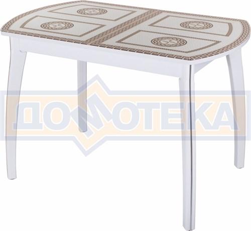 Стол со стеклом - Танго ПО БЛ ст-71 07 ВП БЛ ,белый - фото 6264