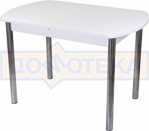 Стол со стеклом - Танго ПО БЛ ст-БЛ 02 ,белый - фото 6271