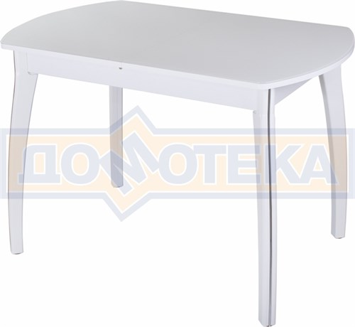 Стол со стеклом - Танго ПО БЛ ст-БЛ 07 ВП БЛ ,белый - фото 6274