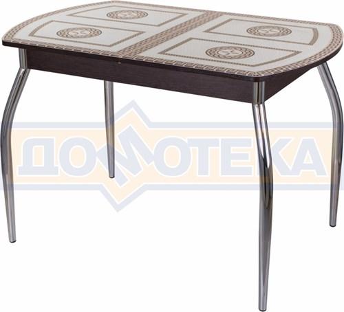 Стол со стеклом - Танго ПО ВН ст-71 01 ,венге - фото 6275