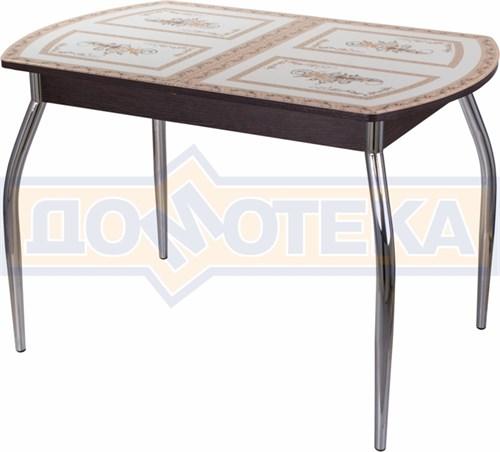 Стол со стеклом - Танго ПО ВН ст-72 01 ,венге - фото 6280