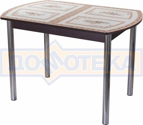 Стол со стеклом - Танго ПО ВН ст-72 02 ,венге - фото 6281