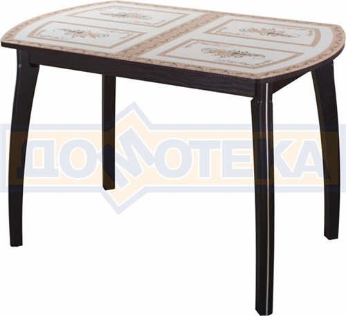 Стол со стеклом - Танго ПО ВН ст-72 07 ВП ВН ,венге - фото 6284