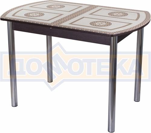 Стол со стеклом - Танго ПО-1 ВН ст-71 02 ,венге - фото 6316