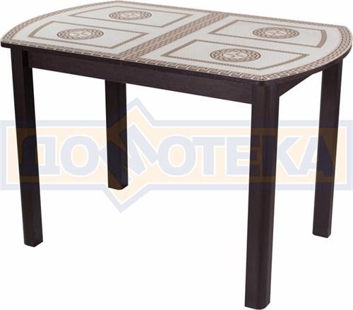 Стол со стеклом - Танго ПО-1 ВН ст-71 04 ВН ,венге - фото 6317