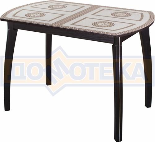Стол со стеклом - Танго ПО-1 ВН ст-71 07 ВП ВН ,венге - фото 6319