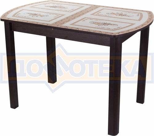 Стол со стеклом - Танго ПО-1 ВН ст-72 04 ВН ,венге - фото 6322