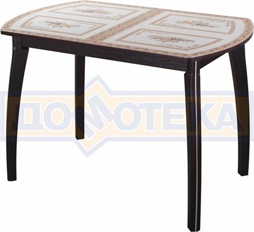 Стол со стеклом - Танго ПО-1 ВН ст-72 07 ВП ВН ,венге - фото 6324