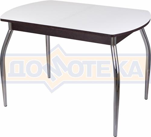 Стол со стеклом - Танго ПО-1 ВН ст-БЛ 01 ,венге - фото 6325