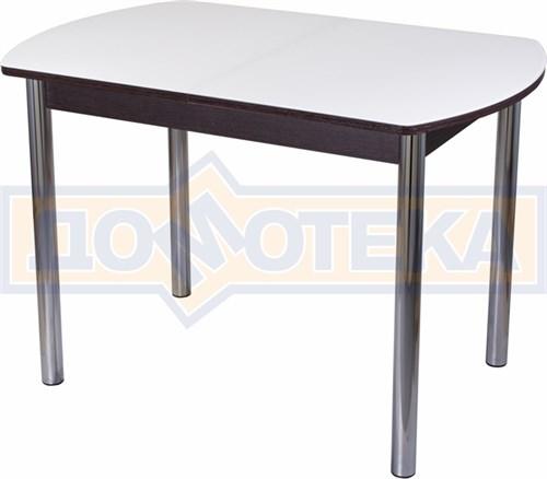 Стол со стеклом - Танго ПО-1 ВН ст-БЛ 02 ,венге - фото 6326