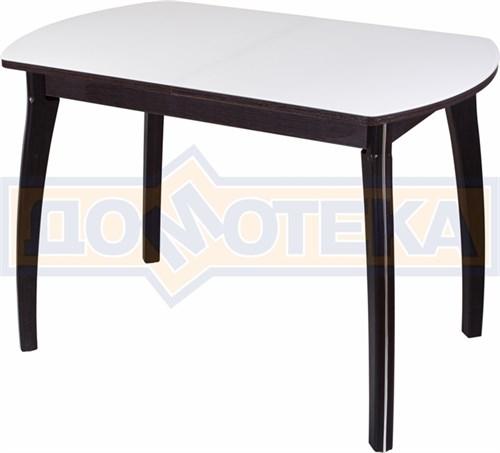 Стол со стеклом - Танго ПО-1 ВН ст-БЛ 07 ВП ВН ,венге - фото 6329