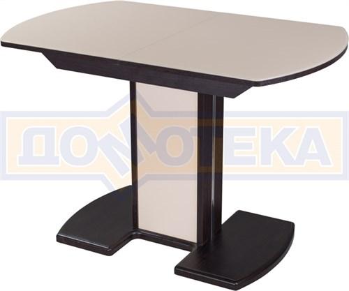 Стол со стеклом - Танго ПО-1 ВН ст-КР 05-1 ВН/КР  ,венге - фото 6330