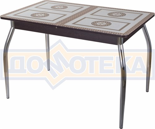 Стол со стеклом - Танго ПР ВН ст-71 01 ,венге - фото 6352