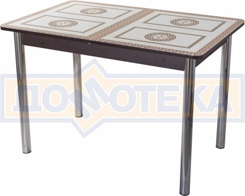 Стол со стеклом - Танго ПР ВН ст-71 02 ,венге - фото 6353