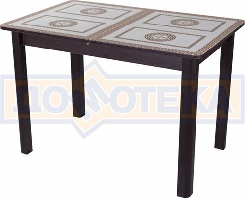 Стол со стеклом - Танго ПР ВН ст-71 04 ВН ,венге - фото 6354