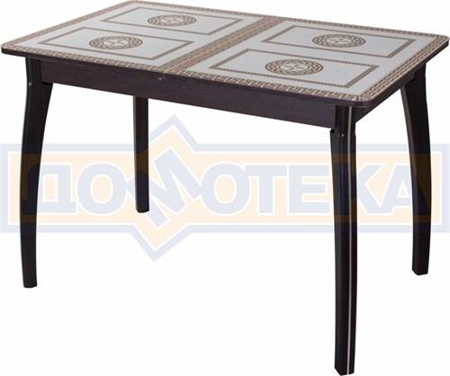 Стол со стеклом - Танго ПР ВН ст-71 07 ВП ВН ,венге - фото 6355