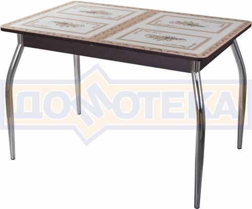 Стол со стеклом - Танго ПР ВН ст-72 01 ,венге - фото 6356